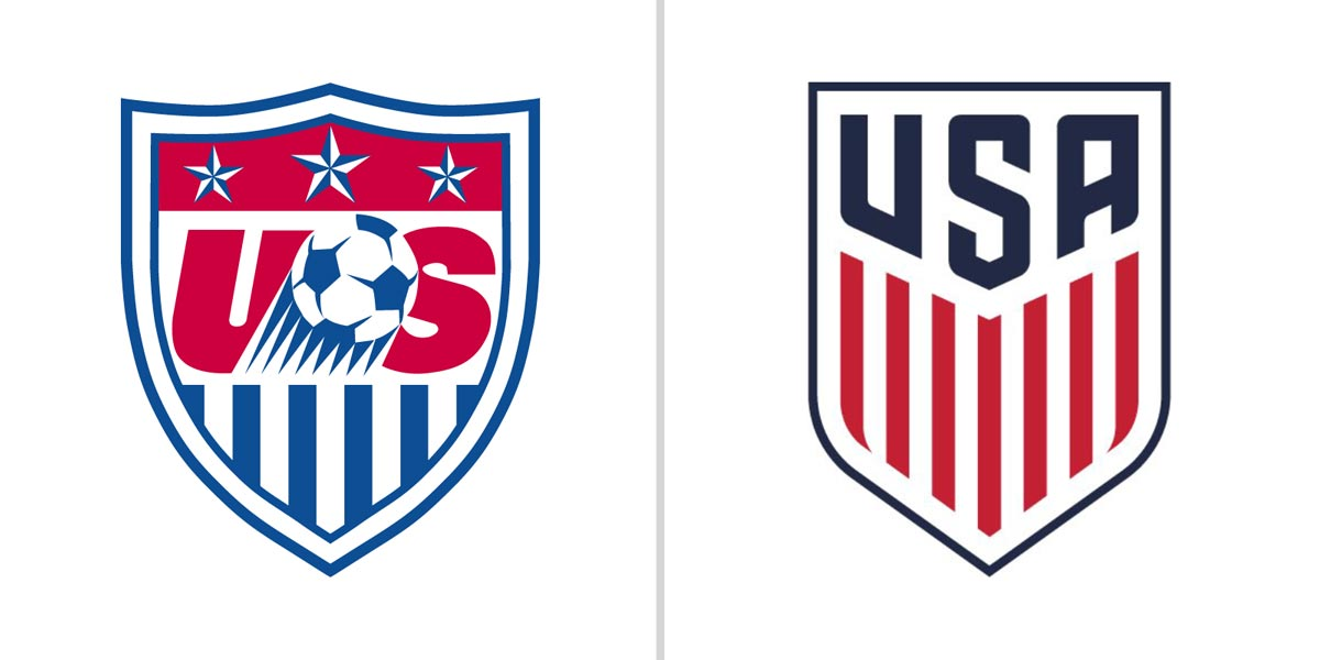 new us soccer logo released footy headlines