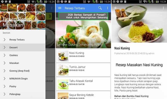 Aplikasi Resep Makanan Terbaru Terlengkap Dan Terbaik Android