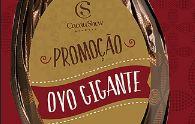 Promoção Ovo Gigante Cacau Show promocaocacaushow.com.br