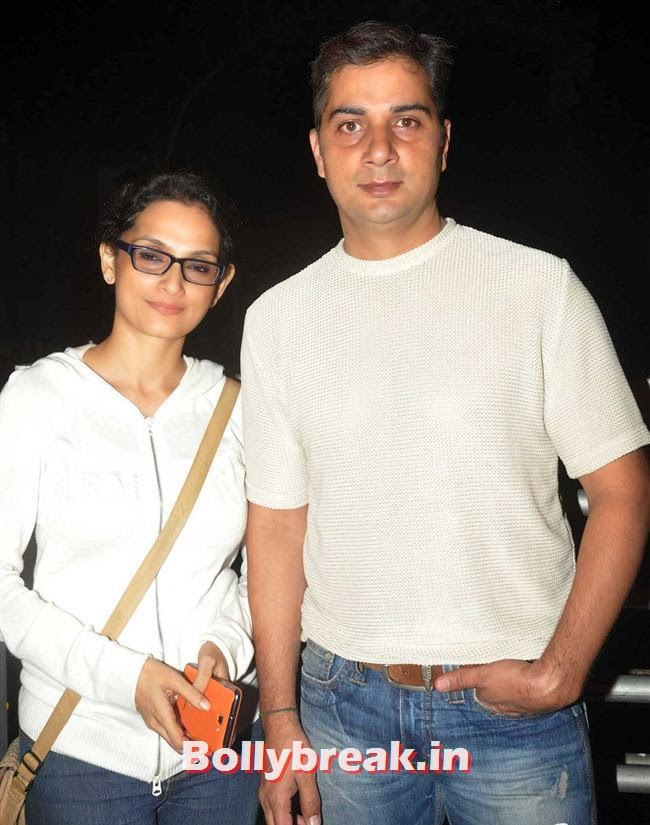 Rageshwari and Varun Badola