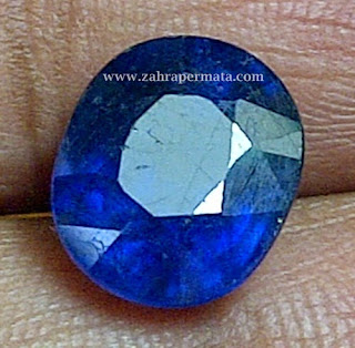Batu Permata Royal Blue Safir - ZP 259