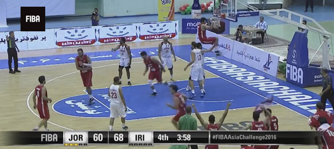 HIGHLIGHTS: Iran vs. Jordan (VIDEO) 2016 FIBA Asia Challenge - SEMIS