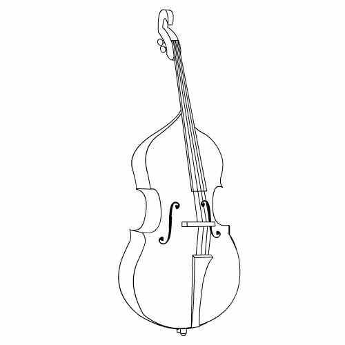 Baú Da Web: 15 Desenhos De Instrumento Musical Para Colorir