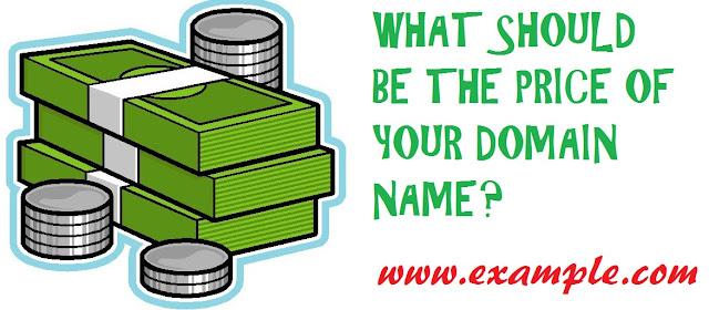 Price of domain name