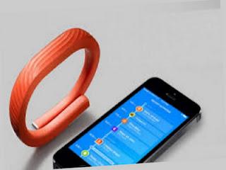 Jawbone UP24 gelang digital untuk olahraga menghitung detak jantung dan kalori
