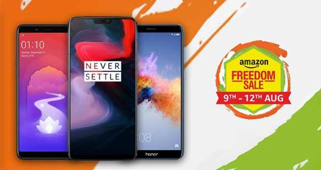 One Plus 6  Independence  Offers  On Amazon