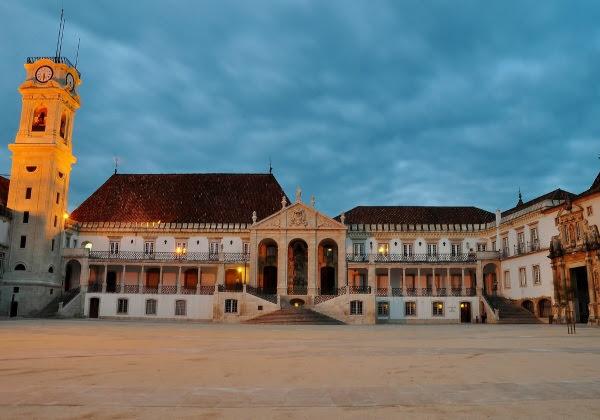 Universidade de Coimbra, em Portugal (Foto: Divulgação)