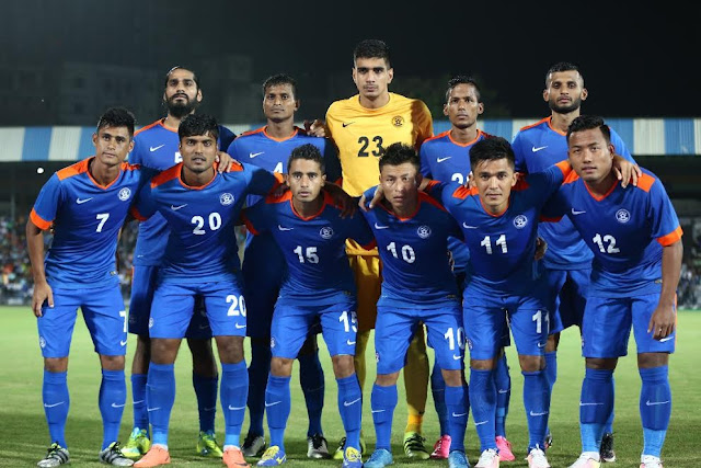 India ranked 100th in FIFA World Rankings