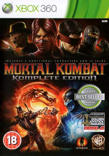 Mortal Kombat: Komplete Edition (LT 2.0/3.0 RF) Xbox 360 Torrent