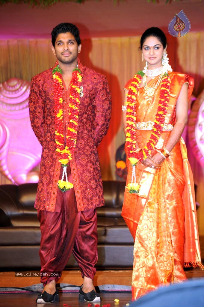 Crazy Adventure: Allu Arjun Wedding Reception Album