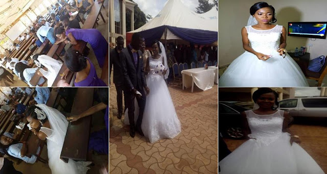 """""""Why I left my wedding venue to write my exams"""" — Bride who wrote exam on her wedding day in Benue State University"""
