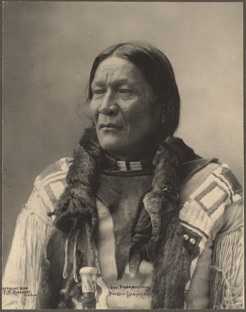 old portraits of native americans by frank a rinehart