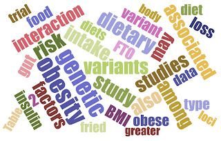 Self-made word-cloud on precisionmedicine in obesity and weight loss