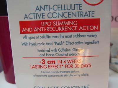 koncentrát proti  celulitíde