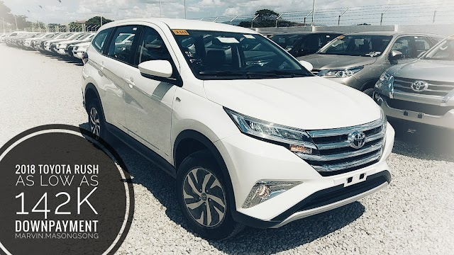 Promo: 2018 Toyota RUSH 142k Down - 2018 Mid-Year Toyota Batangas All-in Promos (Philippines)