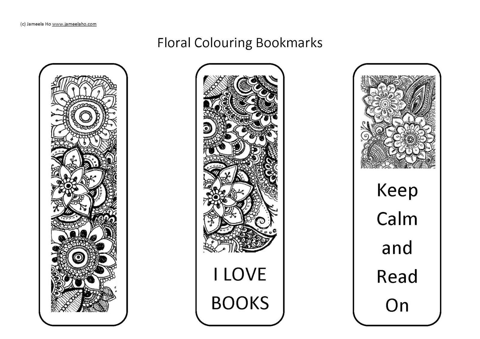 picture relating to Books I've Read Printable named Muslim Parenting: No cost Down load: Printable Floral Colouring