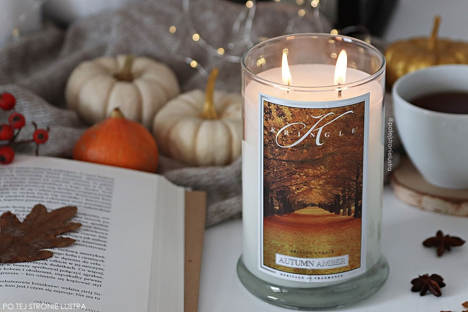 kringle candle autumn amber nowość 2018
