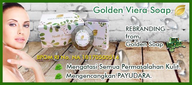Jual Golden Viera Soap