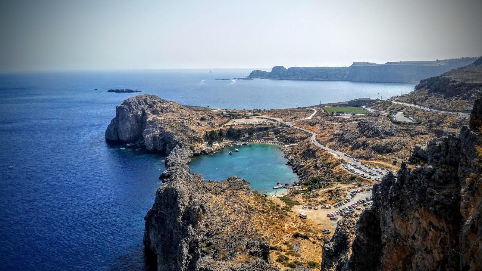 Grecja - bajkowe Lindos na Rodos.