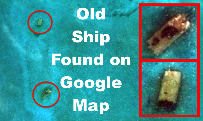 UFO SIGHTINGS DAILY: Old Ship Wreak Found Near Bermuda On Google