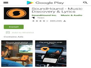 SoundHound, aplikasi pencarian musik dengan potongan lirik