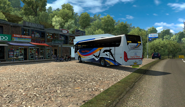 Bus Discovery M. Annas - ETS2