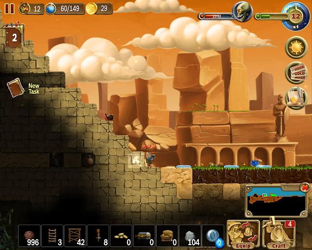 Dig the Pyramid | Craft the World Screenshot