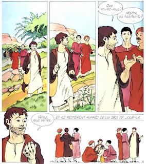 appel disciple L'évangile de Jésus Christ - Mame Fleurus