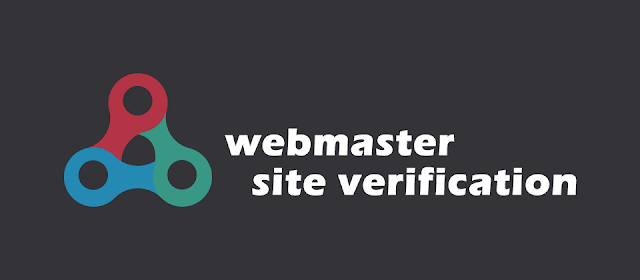 Webmaster Site Verification