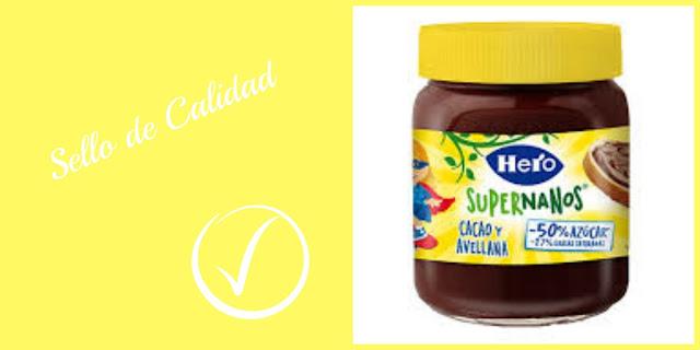 Crema de cacao SuperNanos de Hero