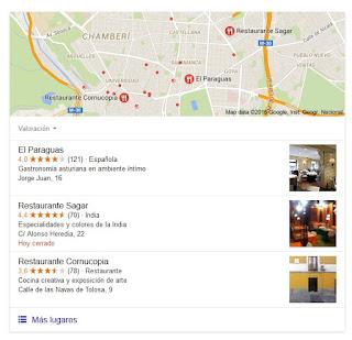 Google - resultados de búsqueda