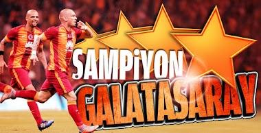ŞAMPİYON GALATASARAY - TEBRİK EDİYORUM