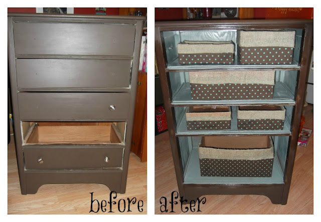 Repurposing Dresser Drawers Front Just B Cause