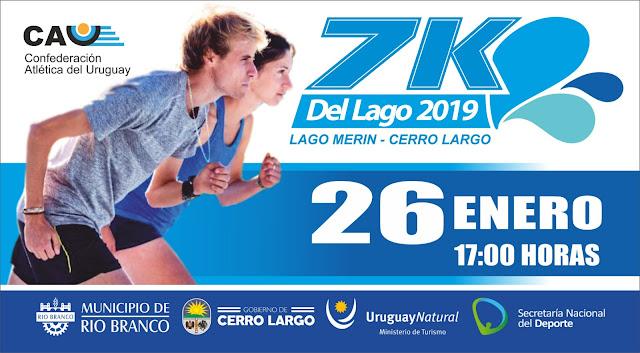 7k del Lago Merín (Municipio de Rio Branco - Cerro Largo, 26/ene/2019)