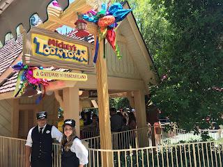 Mickey Toontown Station Disneyland
