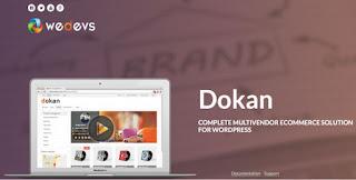 Dokan v2.4.8 Multivendor e-Commerce WordPress - WeDevs