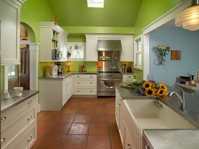 decoração Cozinha Verde