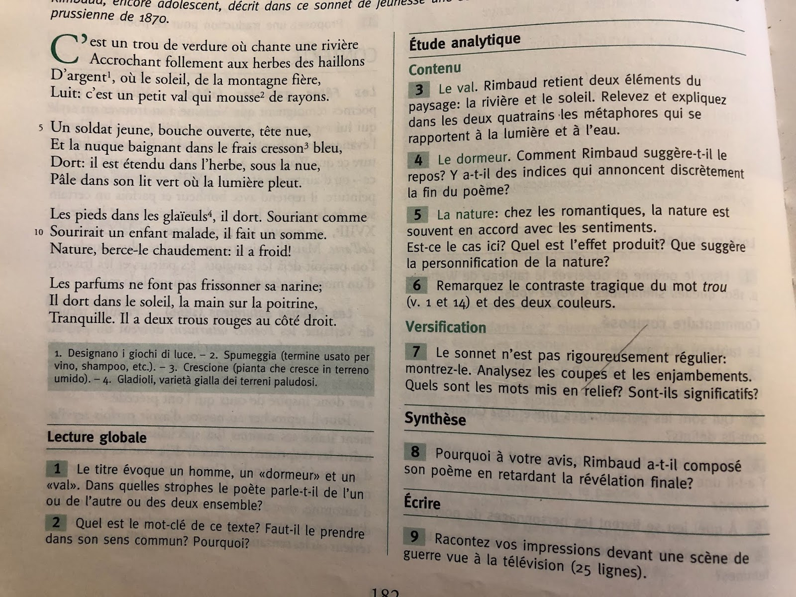 Laboratoire Linguistique Francais 5 A