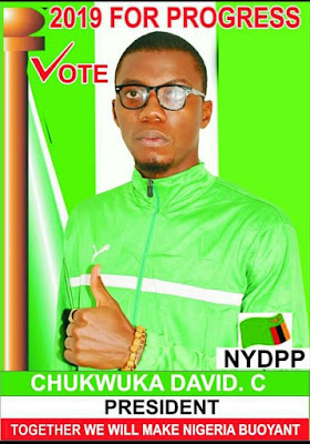 'Why I want to be Nigeria's President in 2019' A 22 year-old Nigerian based in Abuja has thrown in his hat to run for the presidency in Nigeria come 2019.