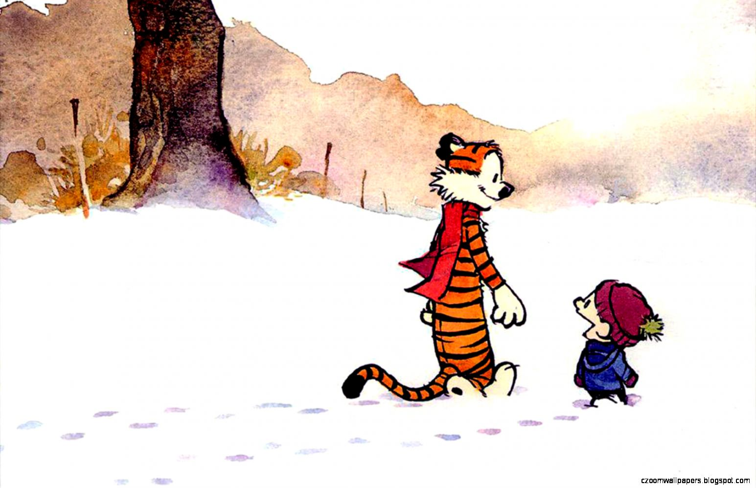 Calvin And Hobbes Wallpapers Zoom Wallpapers