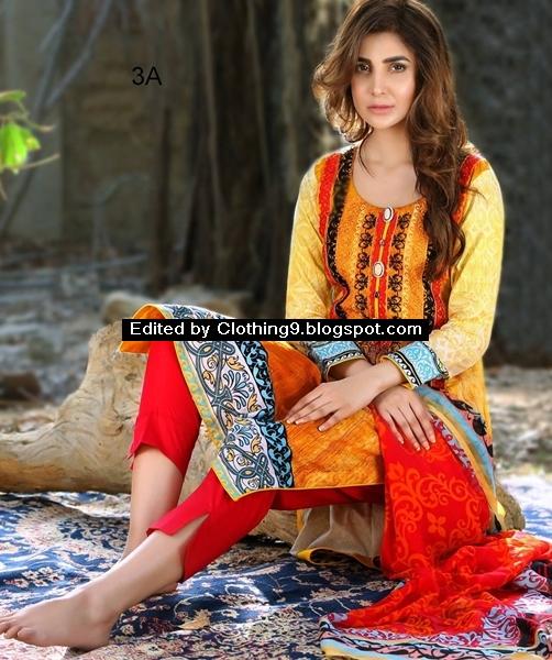 AlZohaib Monsoon Festivana Lawn Eid Collection 2016-17