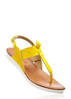 Sandale imitaţie de piele