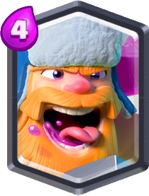 Carta Lenhador de Clash Royale - Wiki da Carta