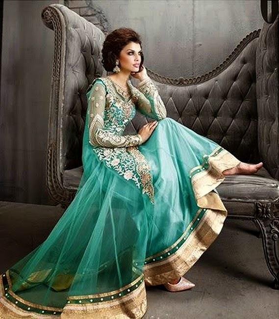 8078acd5e1d324 ... Pakistani Bridal Frocks: Incredible Designer Outfits For Pakistani  Wedding