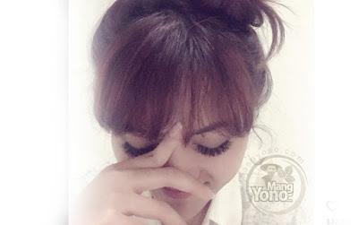 Rina Nose Bikin Kuis Caption Fotonya Berhadiah Uang