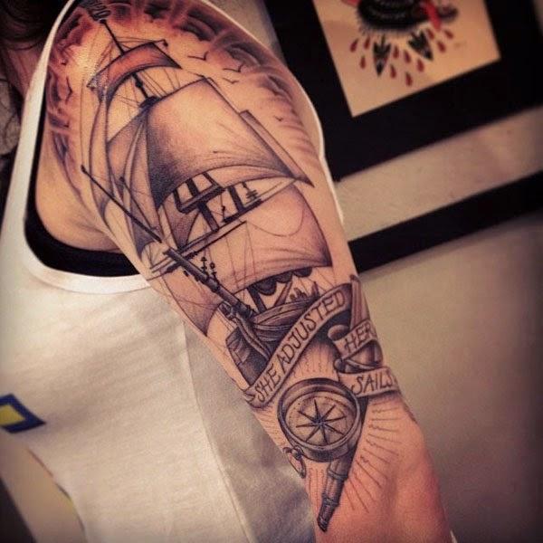 Tatuajes De Veleros Y Barcos Belagoria La Web De Los Tatuajes