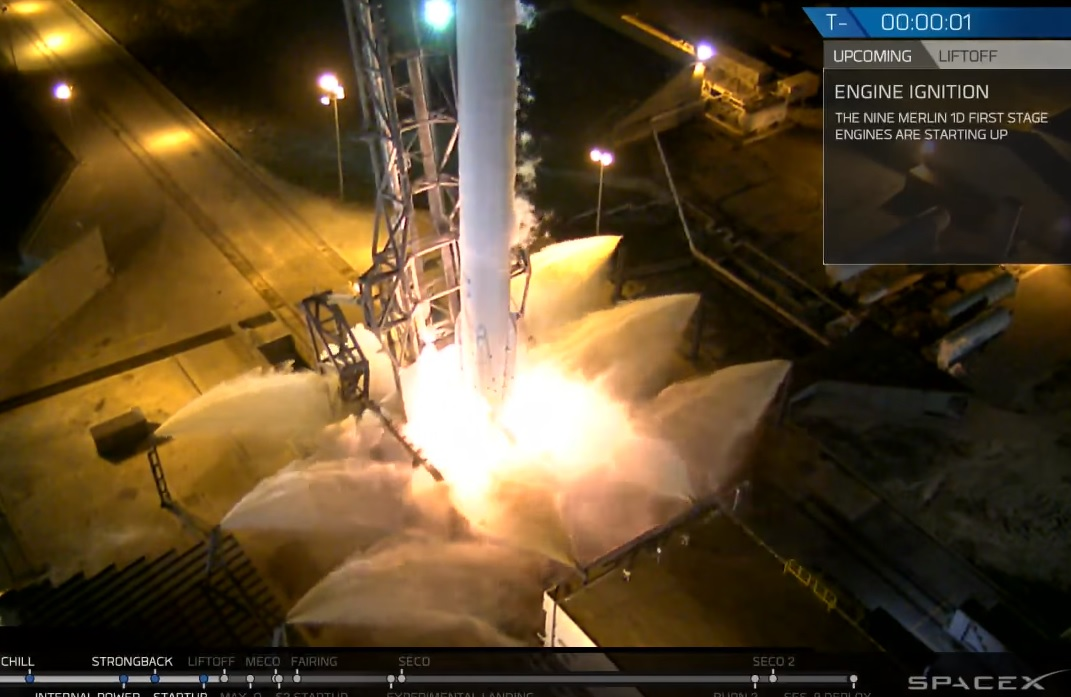 Watch SpaceX's SES-9 mission launch