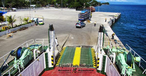 Lipata Port Surigao City - Schadow1 Expeditions