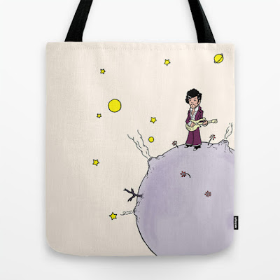 Little Prince canvas tote bag
