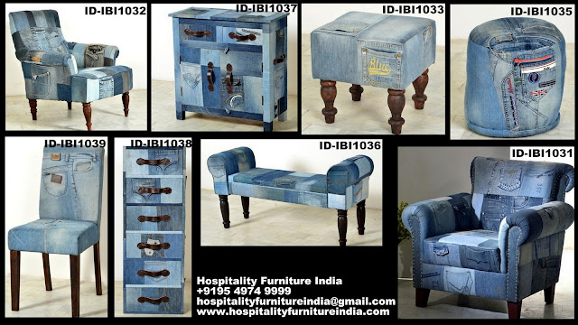 Denim furniture